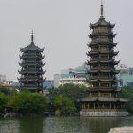 Guilin: muchas colinas, bonitas pagodas y una calle comercial milenaria