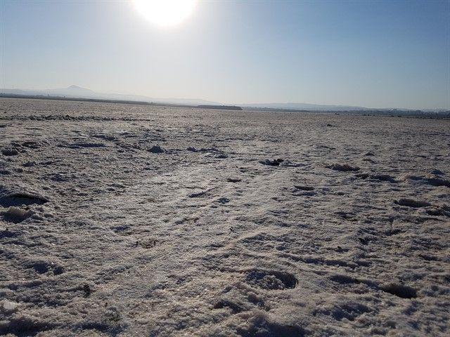 Lago de sal en Lárnaca