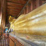 El gran buda reclinado de Wat Pho, lagartos de dos metros y bichos