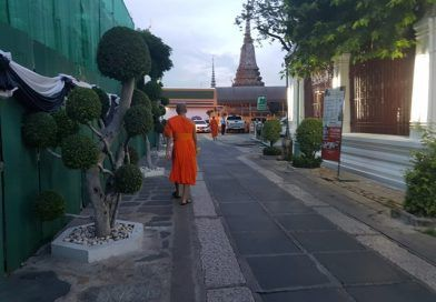 Llegada a Bangkok y primer contacto con Tailandia
