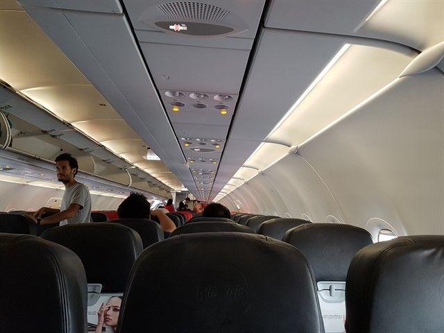 Avión de Air Asia
