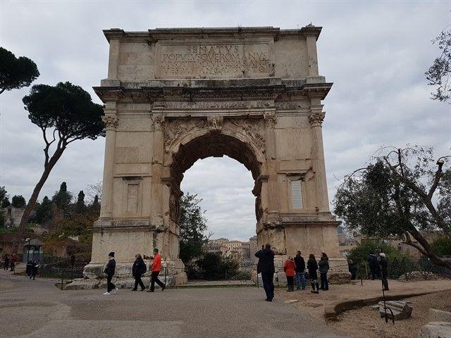 El Arco del Triunfo de Constantino I