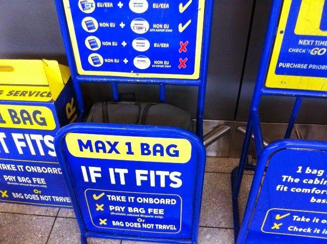 el precio se mantiene estable muy agradable disfruta el precio más bajo Así son las nuevas normas de equipaje de Ryanair