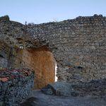 Santibáñez el Alto y su castillo, en Sierra de Gata