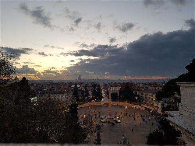 La terraza del Pincio es uno de los mejores miradores de Roma