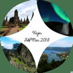 Nuestros viajes en febrero y marzo 2018