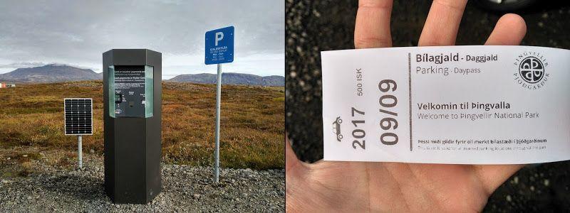 ticket parking thingvellir