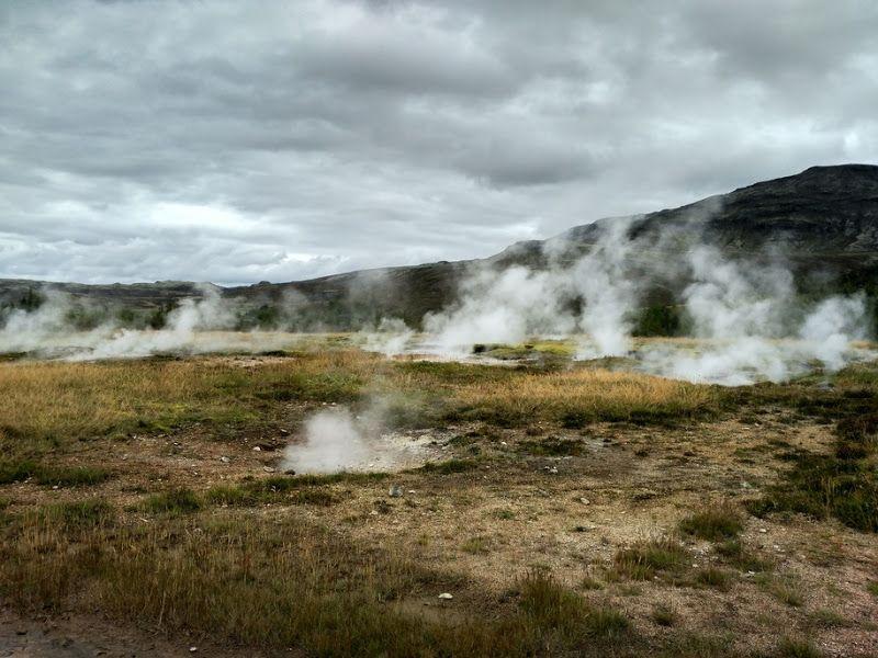 zona de geysers islandia