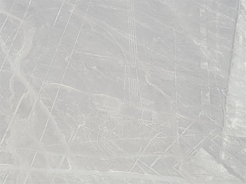 Las líneas de Nazca desde el avión