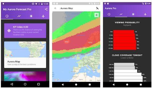 my aurora forecast app