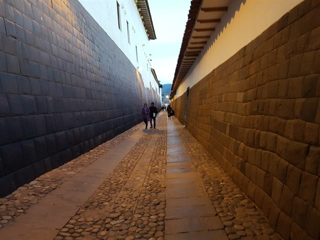Calle Loreto, en Cuzco