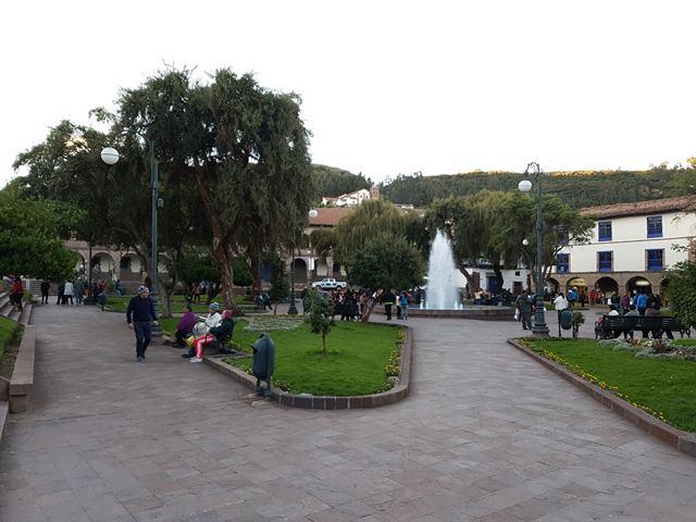 Plaza de San Francisco de Cuzco