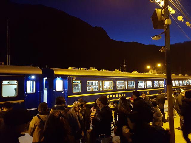 Tren de Ollantaytambo a Aguascalientes