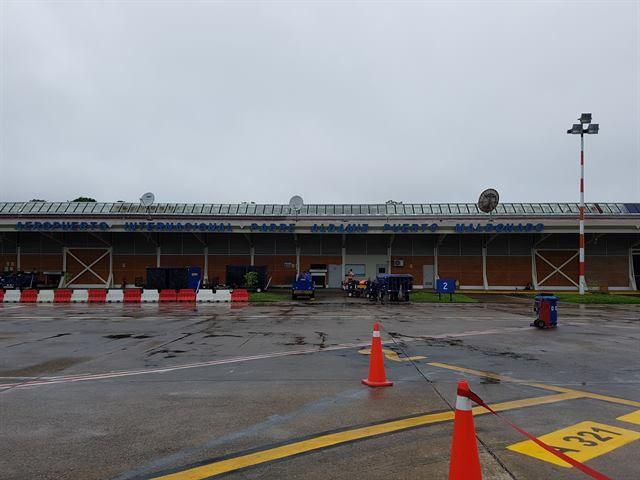 Aeropuerto de Puerto Maldonado, la entrada a Tambopata