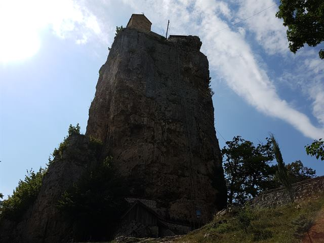 La columna de Katskhi, en Georgia