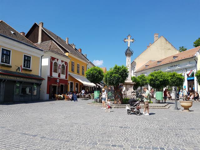 Cruz del Mercader, en Szentendre
