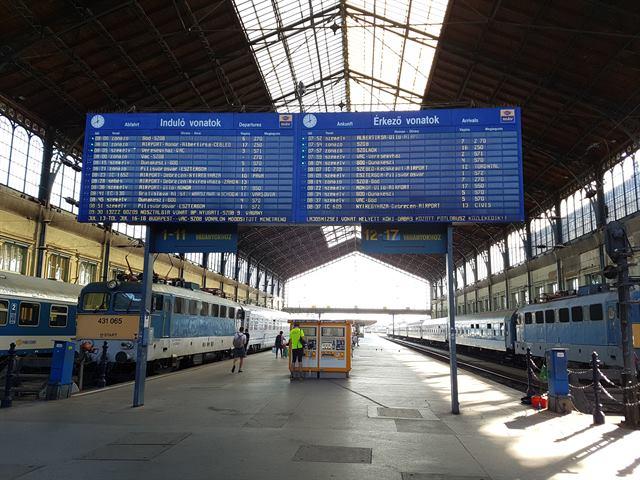 Estación de tren de Nyugati