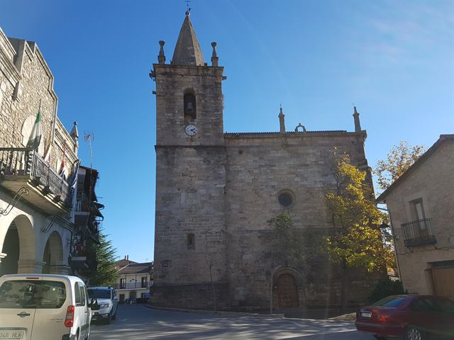 Iglesia del Buen Varón, en Hoyos