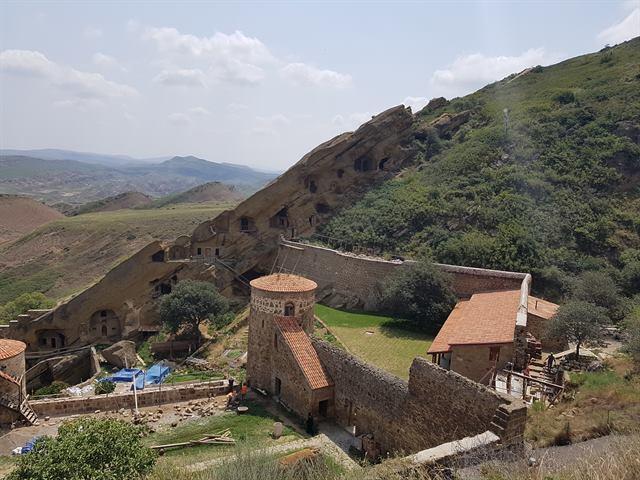 Monasterio de David Gareji, al sur de Georgia