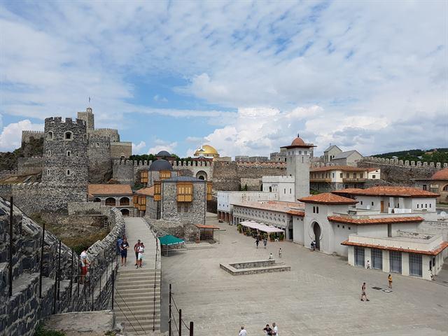 Castillo de Rabati, en Georgia
