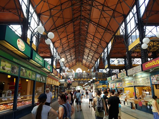 Gran Mercado de Budapest