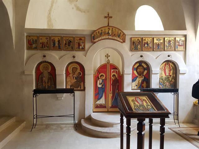 Iglesia de San Nicolás, en el monasterio de David Gareja