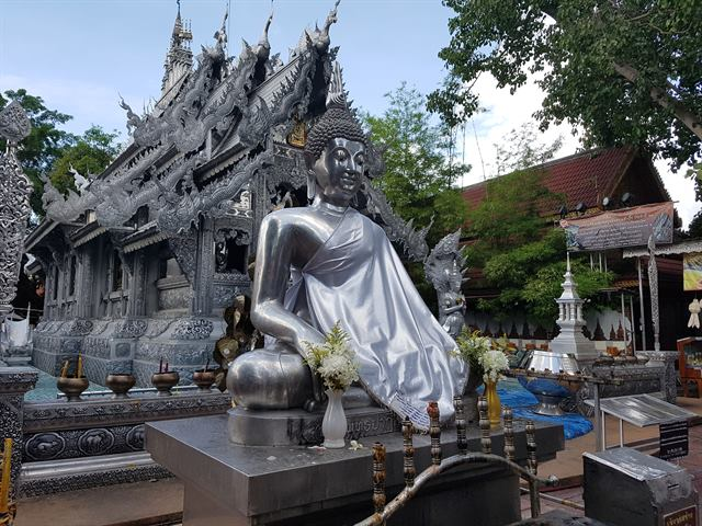 Templo de Plata, en Chiang Mai