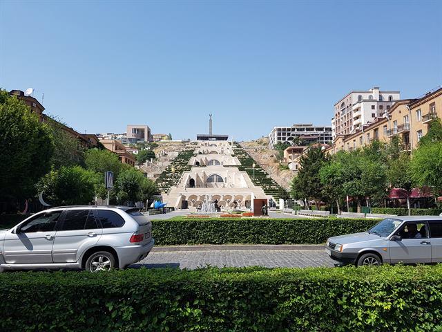 El complejo Cascada de Ereván