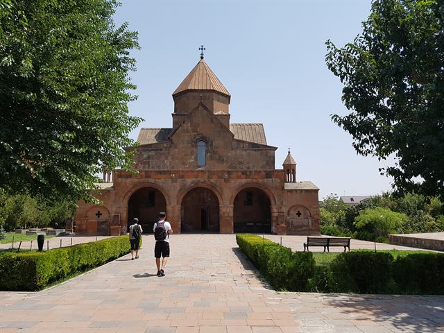 Iglesia de Santa Gayané, en Echmiadzin