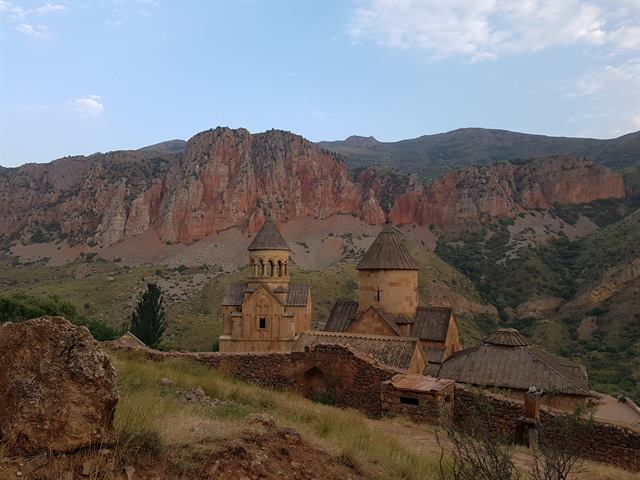 Monasterio de Noravank, al sur de Armenia