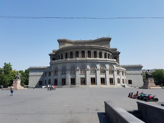 Ópera de la capital de Armenia