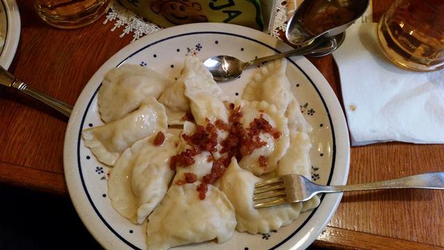 Pierogi, uno de los platos típicos de Polonia
