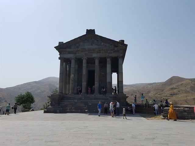 El Templo de Garni, una visita interesante en Armenia