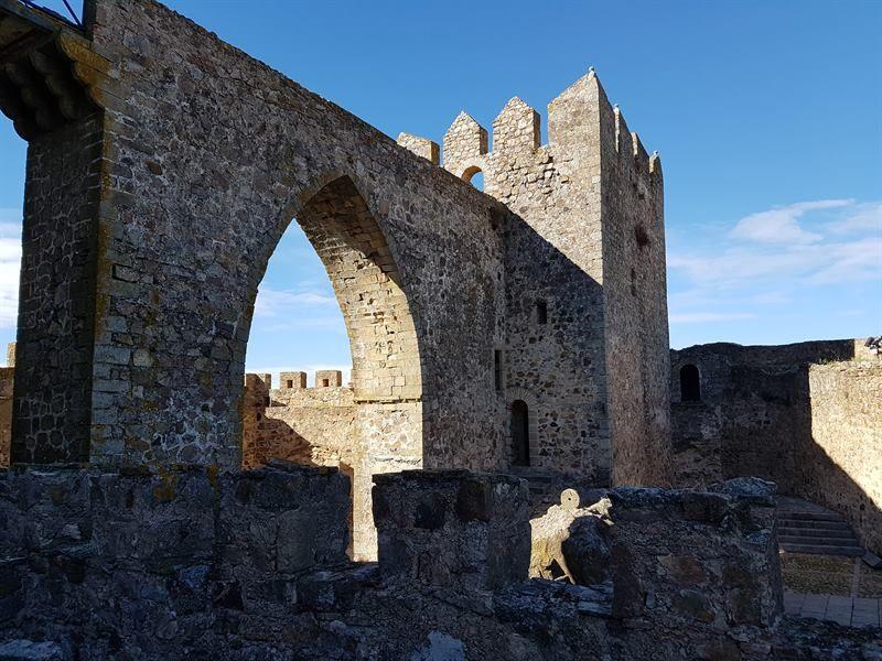 Castillo de Luna en Alburquerque