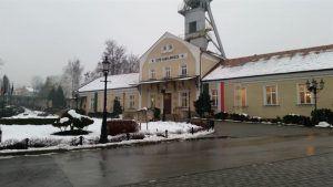 Entrada a las minas de sal de Wieliczka
