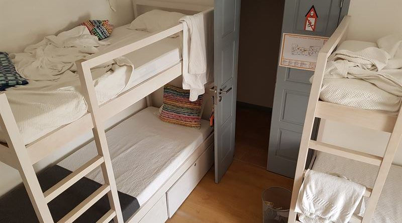 Habitación compartida en un hostal
