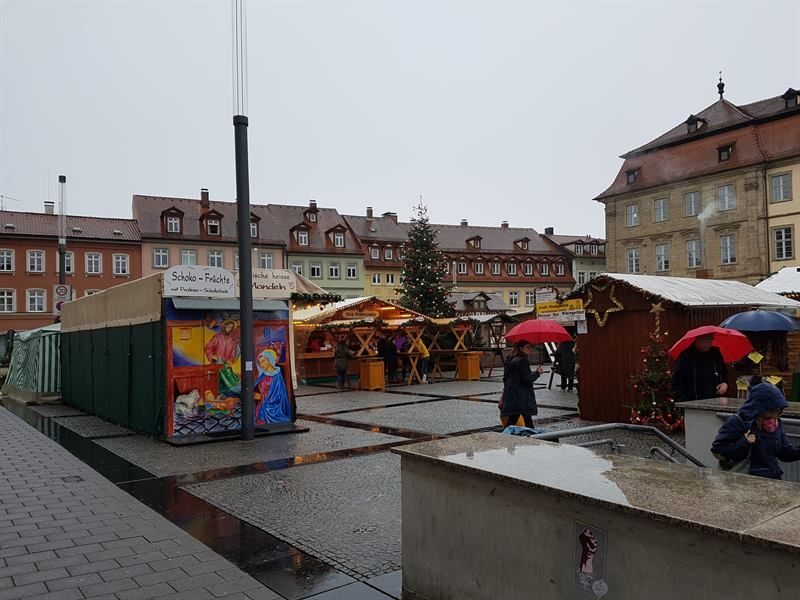 Maximiliansplatz en Bamberg