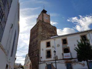 La torre del Reloj de Alburquerque