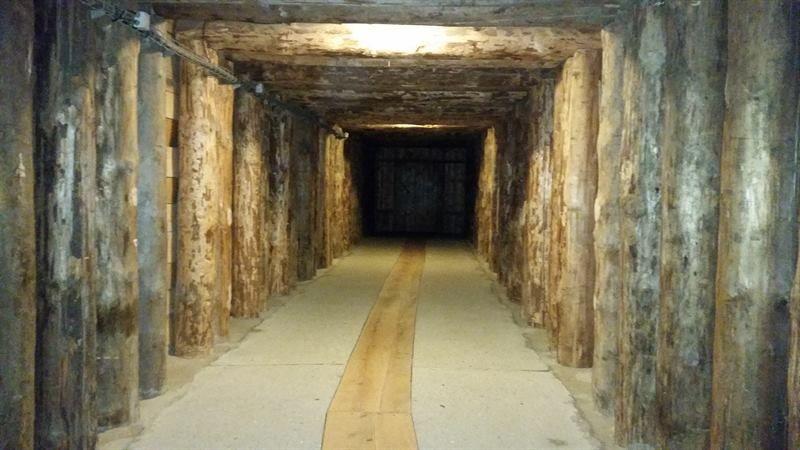 Túneles minas de sal de Polonia