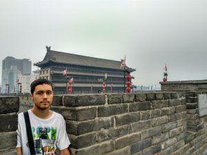 Una de las puertas de la Muralla de Xian