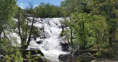 Cascada del Calderón, en el Valle del Jerte