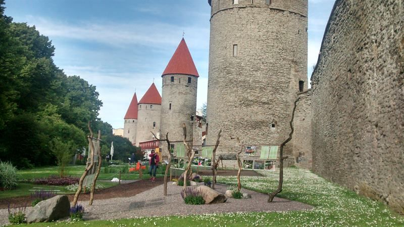 Castillo de Toompera, en Tallin
