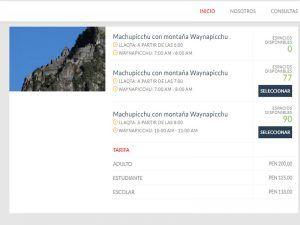 Cómo comprar la entrada para Machu Picchu