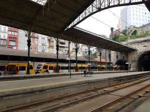 Estación de tren de São Bento