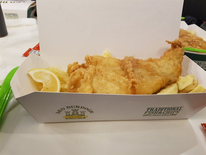 Fish and Chips en Leo Burdock