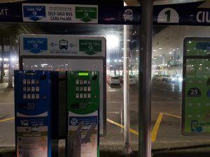 Máquinas para comprar el autobús del aeropuerto a Mallorca