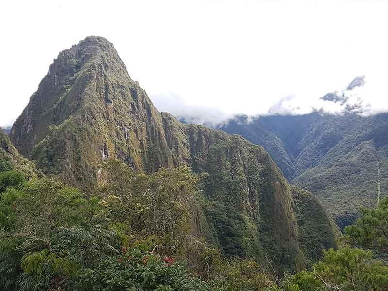 La montaña de Wayna Picchu