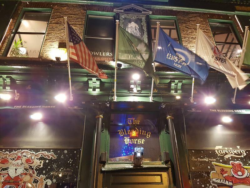 The Bleeding Horse, uno de los mejores pubs de Dublín