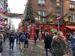The Temple Bar, en Dublín