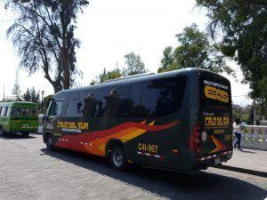 Transporte, importante para un presupuesto para viajar a Perú